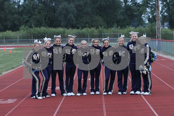 Cheerleaders  Football 2010
